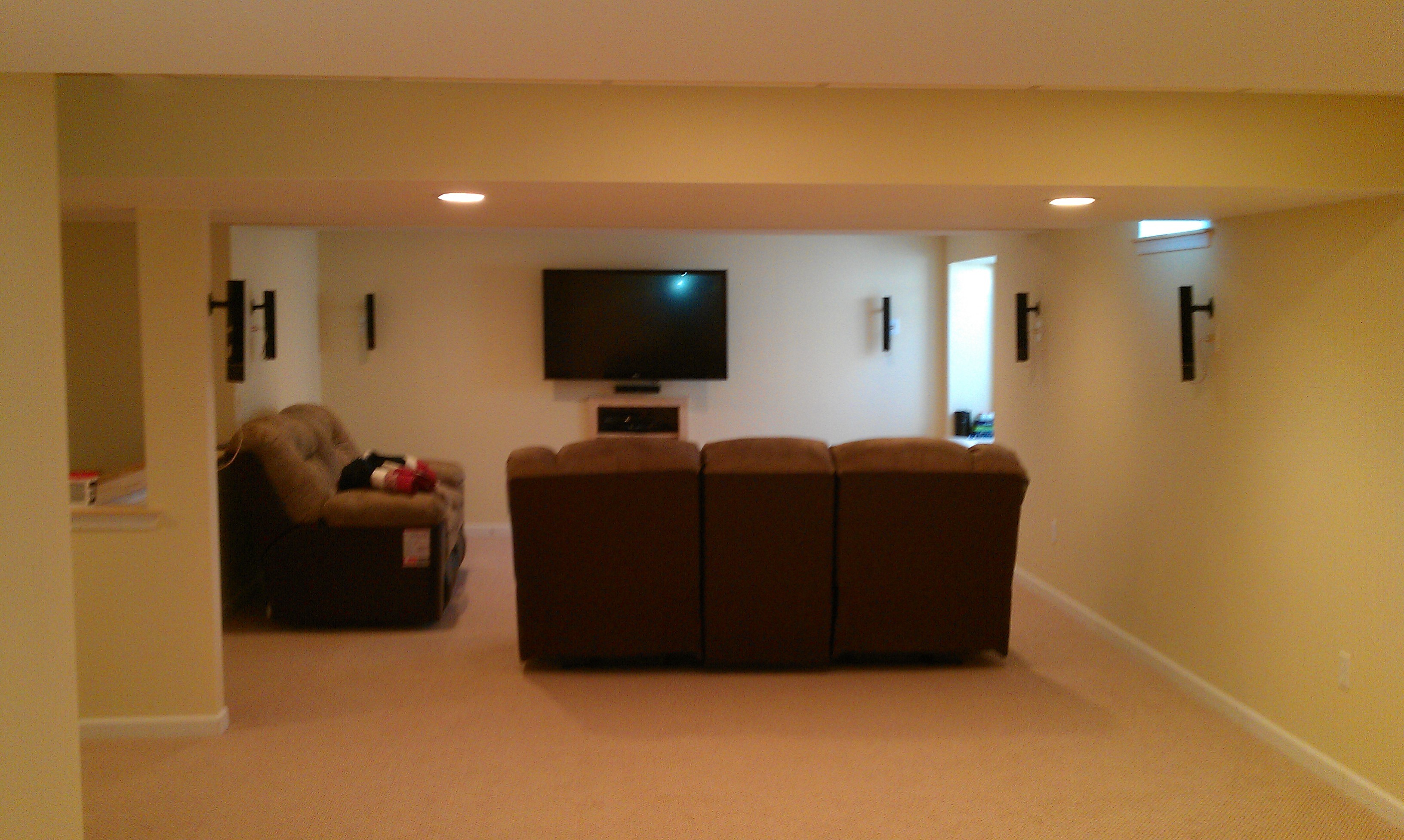 Basement (with bedroom & bathroom)  Picture Cust Bar.